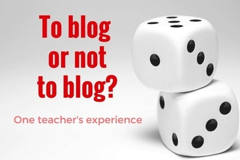 Giving students voice with blogging: one teacher's experience. | Moodle and Web 2.0 | Scoop.it