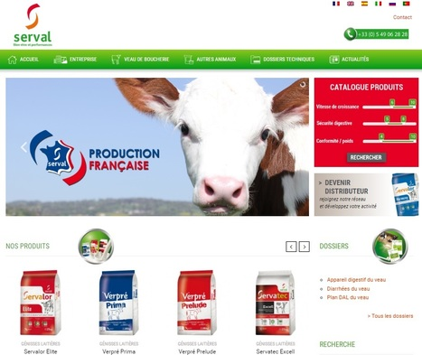 Aliments d'allaitement et intégration de veaux de boucherie | Serval | Évolution du marché du lait - Global Dairy Market News and outlook | Scoop.it