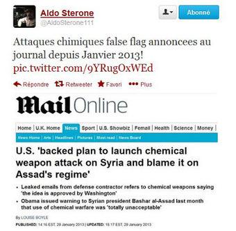L'article annonçant l'opération chimique dès janvier, supprimé ! (Daily Mail) | Toute l'actus | Scoop.it