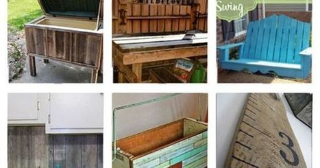 Leftover Wood Ideas :: Lisa Pennington's clipboard on | Upcycled Objects | Scoop.it