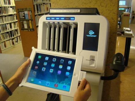 Prêt de tablettes électroniques en libre-service (Bibliothèque de Saint-Lambert, Quebec) | Lecture publique et numérique | Scoop.it