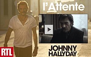Clip: Johnny Hallyday 'L'Attente' (video) | cotentin webradio news ! | Scoop.it