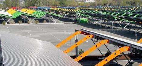 Bordeaux s'offre le plus grand parc photovoltaïque urbain de France | Le groupe EDF | Scoop.it