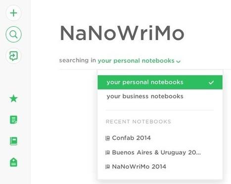 Écrire plus simplement et sans distraction avec Evernote   doGtd   Scoop.it