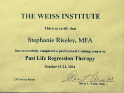 Contact Stephanie Riseley for Past Life Regression Therapy! | Health & Fashion | Scoop.it