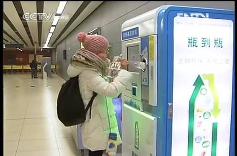 Beijing subway pays traveler credits for recycling plastic bottles. | Benoit Massé New Rules of Business | Scoop.it