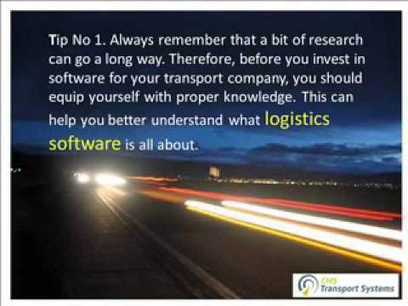Understand Your Business Needs And Goals To Find The Right Logistics Software | business and technology | Scoop.it