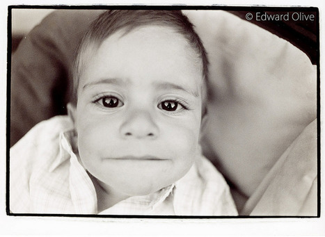 Baby in pram © Edward Olive wedding event portrait photographer from Madrid Spain | Bodas | Scoop.it