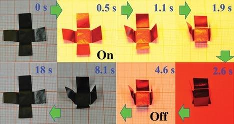 Self Folding Graphene Paper | News we like | Scoop.it