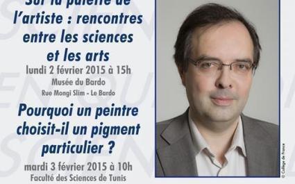 Conférences du Collège de France en Tunisie : Pr. Philippe Walter   Institut Français de Tunisie   Institut Pasteur de Tunis-معهد باستور تونس   Scoop.it