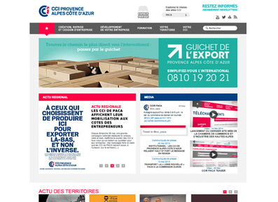 creation site internet CCI PACA | Gazelle Communication | Les News de l'agence Gazelle Communication | Scoop.it