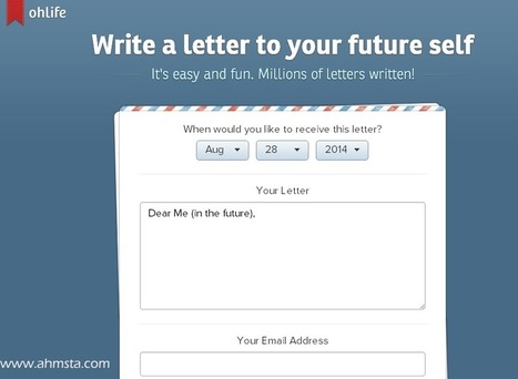 Ohlife.com – Write a Letter To YourSelf In Future | Technology, computers, softwares Tips | Scoop.it
