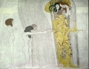 Gold for Paradise - Gustav Klimt's gilding technique for the Beethoven Frieze by Alexandra Matzner | News in Conservation | Scoop.it