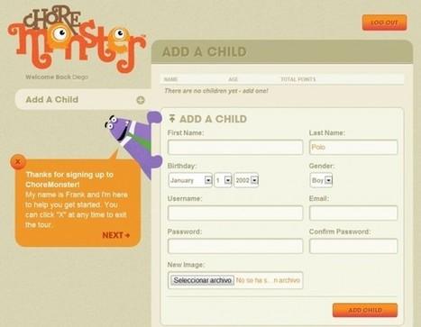 Choremonster, el sistema de tareas y recompensas para padres e hijos | Integrando TIC al aula | Scoop.it
