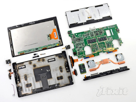 Microsoft Surface Pro Teardown | iFixit | Nerd Vittles Daily Dump | Scoop.it