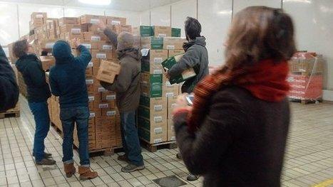Rodez : une cinquantaine d'agriculteurs font main basse sur les fromages de Lactalis - France 3 Midi-Pyrénées | Gardarem les paysans | Scoop.it