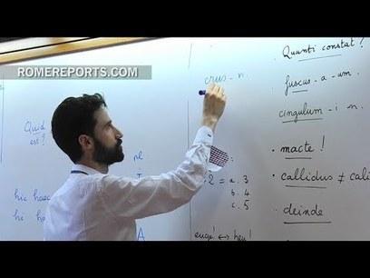 Latín, griego clásico y hebreo: tres lenguas que se ponen de moda en Roma | Mundo Clásico | Scoop.it