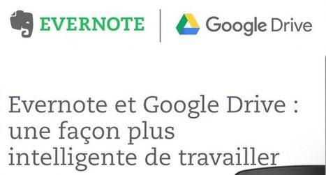 Evernote et Google Drive bénéficient d'une connexion renforcée | Google Apps  (FR) | Scoop.it