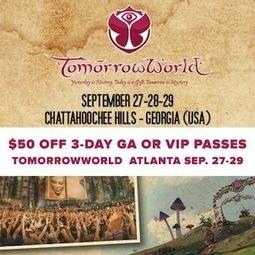 Get $50 off TomorrowWorld GA + VIP 3-day passes   TomorrowLand   Scoop.it