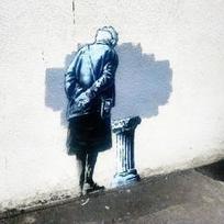 New Banksy Mural Painted Overnight in Folkestone, Kent - Yahoo News UK | About Kent, UK | Scoop.it