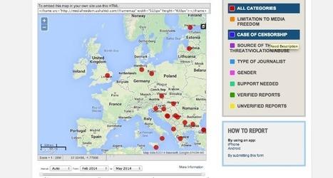 Proyecto registrará violación de la libertad de expresión en Europa | COMUNICACIONES DIGITALES | Scoop.it