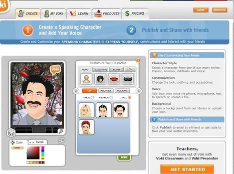 Web2-Unterricht: Was bringt die digitale Zukunft? Ein Avatar führt in die Unterrichtslektion ein. | Schule | Scoop.it