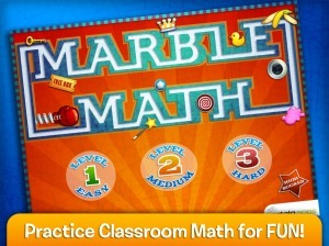 Marble Math and Marble Math Jr. | Applicable2U | 3KI Math Sites | Scoop.it