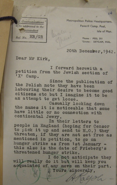 Les Archives de l'internement au Royaume-Uni  en accès libre online | Archives  de la Shoah | Scoop.it