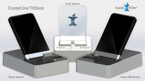 Introducing The CrystalCore TiltDock For Every Mobile Device In Your Life | From the Apple Orchard | Scoop.it