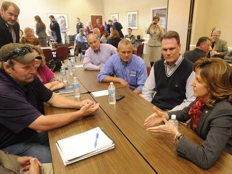 Hagan hears local farmers' migrant worker concerns | BlueRidgeNow.com | North Carolina Agriculture | Scoop.it