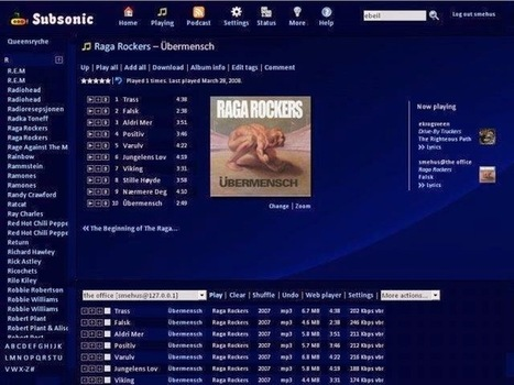 Subsonic is a complete, personal media streaming solution | Software Download | Scoop.it