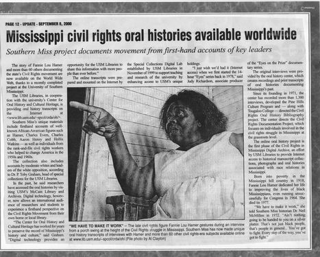 Oral History Transcripts | Civil Rights | Scoop.it