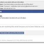 New Malware Comes Dressed as Facebook Photo Tag Email Notification   Prozac Moments   Scoop.it