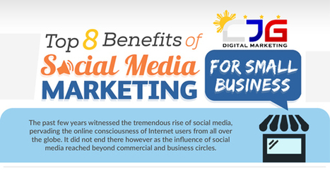8 Key Benefits of Social Media Marketing for Small Business | Business Improvement | Scoop.it