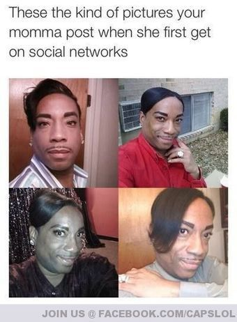 These The Kind of Pictures your Momma Post When She First Get on Social Network - CapsLOL - Just Press It | Too Damn Funny | Scoop.it