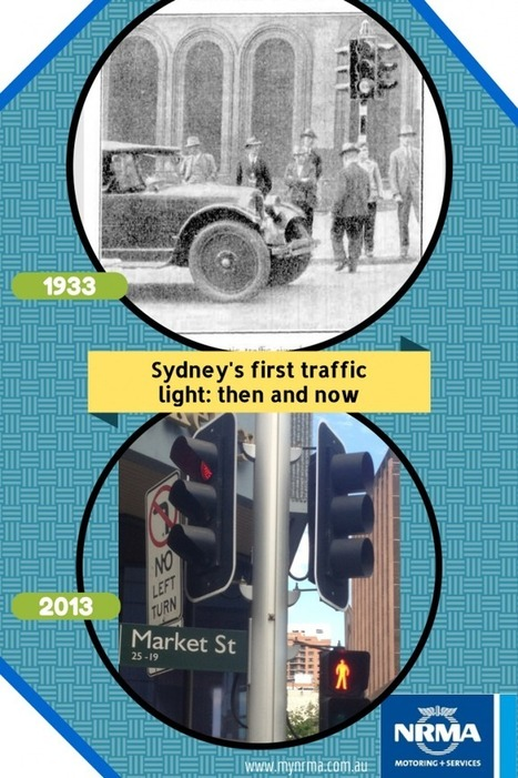 Sydney's first traffic light turns 80! | Cars and Road Safety | Scoop.it