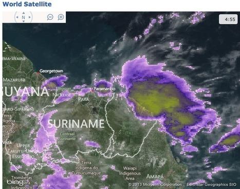 Fortes pluies sur la Guyane   La Guyane   Scoop.it