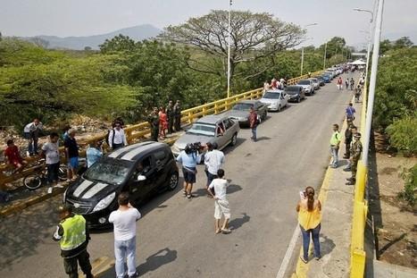 Des évêques tentent d'apaiser le conflit frontalier entre la Colombie et le Venezuela | Venezuela | Scoop.it