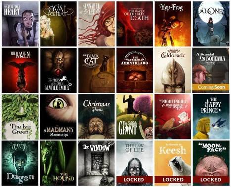 Lovecraft, Dickens y Wilde se desmelenan al hacerse digitales | Libro electrónico y edición digital | Scoop.it