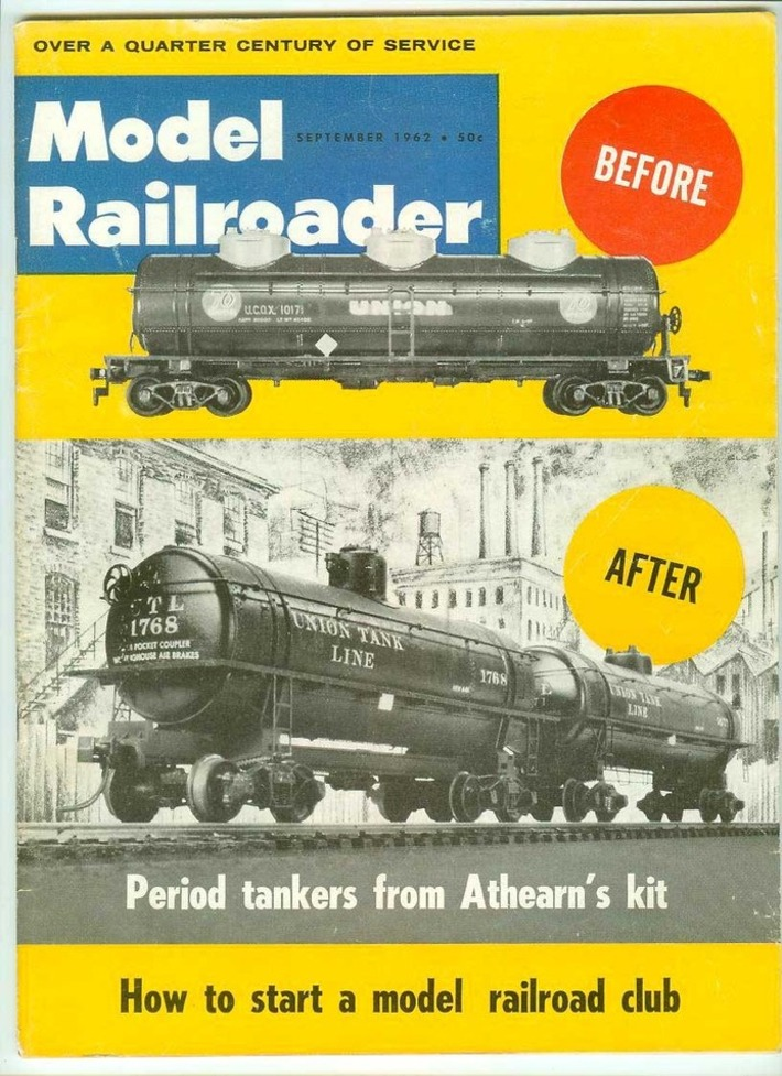 Fair Oaks Antiques — Been listing some vintage Model Railroader... | Antiques & Vintage Collectibles | Scoop.it