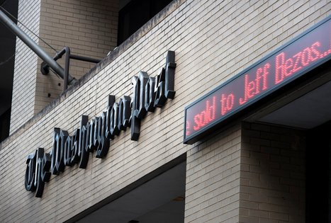 Bob Woodward Saddened by 'Washington Post' Sale to Jeff Bezos | Newspaper Industry of the future | Scoop.it