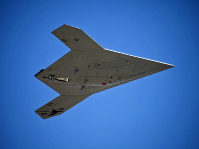 First Ever In Flight Pictures Of The X-47B Unmanned Aerial Vehicle | We are the 99% | Scoop.it