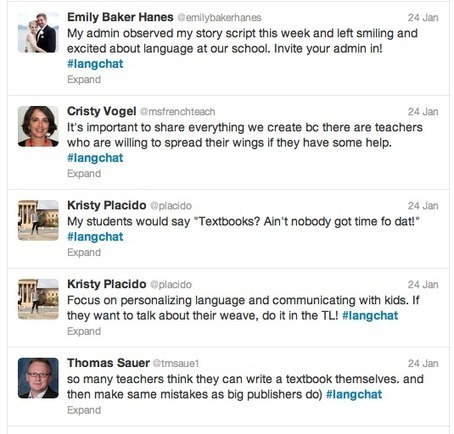 How to Join the Foreign Language Twitter Chats   Foreign language begins with T   World Language Instruction   Scoop.it