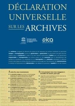 La Déclaration universelle des archives   RoBot généalogie   Scoop.it