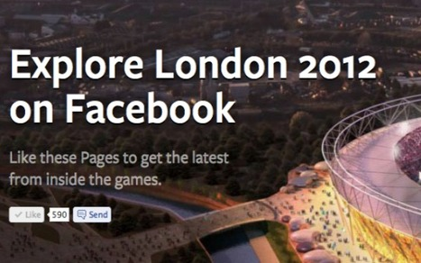 Facebook Launches 2012 Olympics Hub | Web 2.0 News | web2-0h | Scoop.it