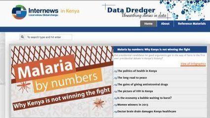 Data Dredger: periodismo de datos para mejorar la salud en Kenia | Periodismo Ciudadano | Periodismo Ciudadano | Scoop.it