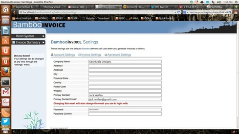 BambooInvoice makes invoicing easy for small businesses ...   Triangle Business Marketing   Scoop.it