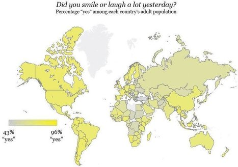 These countries are the most positive - Agenda - The World Economic Forum   S'emplir du monde...   Scoop.it