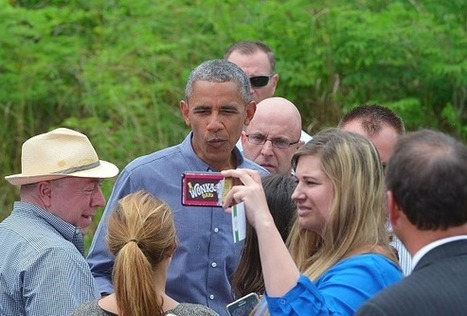 Obama Mocks Climate Change Skeptics: 'It Can't Be Edited Out' | GarryRogers Biosphere News | Scoop.it
