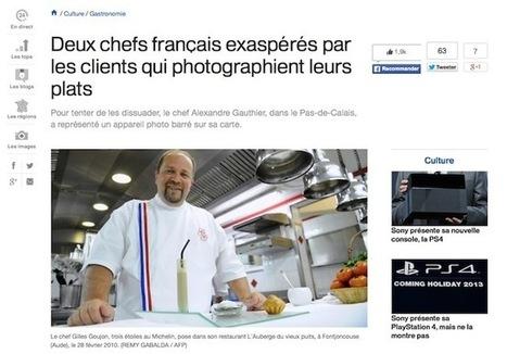 Les Chefs qui souhaitent interdire les photos de bouffe - Korben | Un oeil en cuisine | Scoop.it